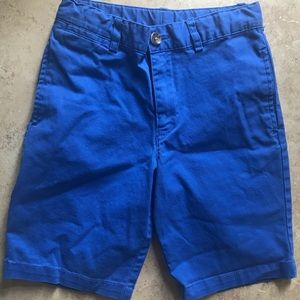 Boys royal blue Polo shorts